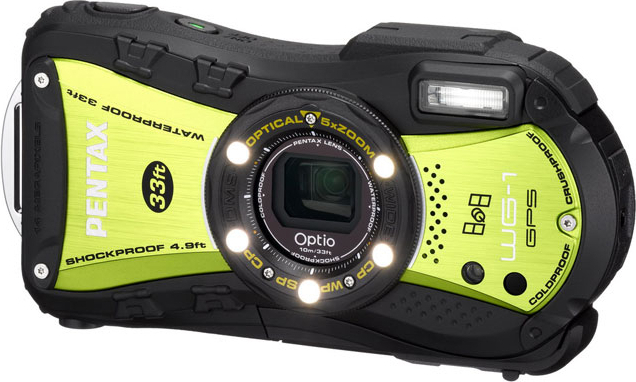 Optio WG-1 GPS