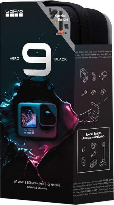 HERO9 BLACK 限定バンドル CHDRB-901-FW