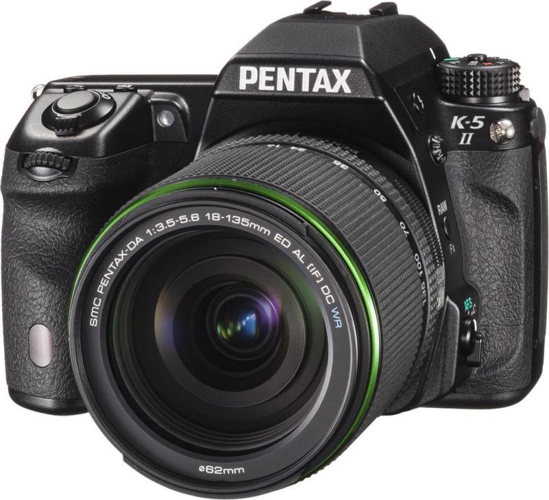 PENTAX K-5 II 18-135WR レンズキット