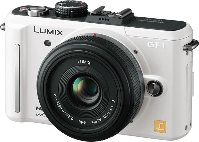 LUMIX DMC-GF1C パンケーキレンズキット