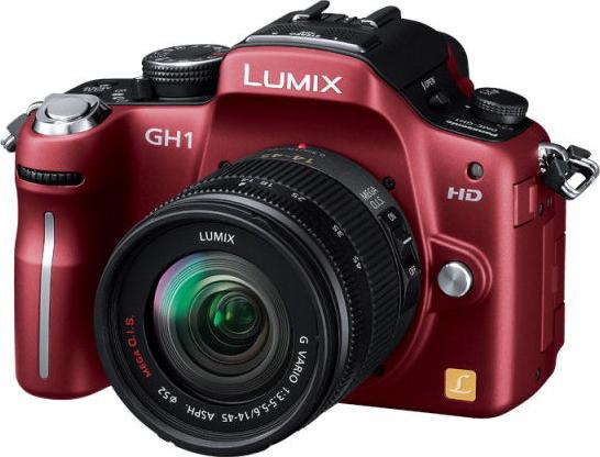 LUMIX DMC-GH1A レンズキット