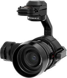 Zenmuse X5 レンズ付属モデル
