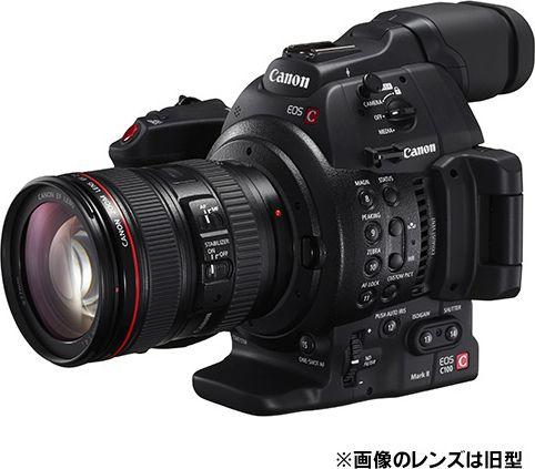 EOS C100 Mark II EF24-105L IS II USM レンズキット