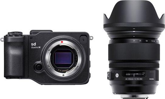 SIGMA sd Quattro H 24-105mm F4 DG OS HSM Art レンズキット