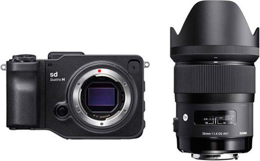 SIGMA sd Quattro H 35mm F1.4 DG HSM Art レンズキット