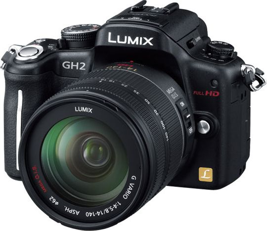 LUMIX DMC-GH2H レンズキット