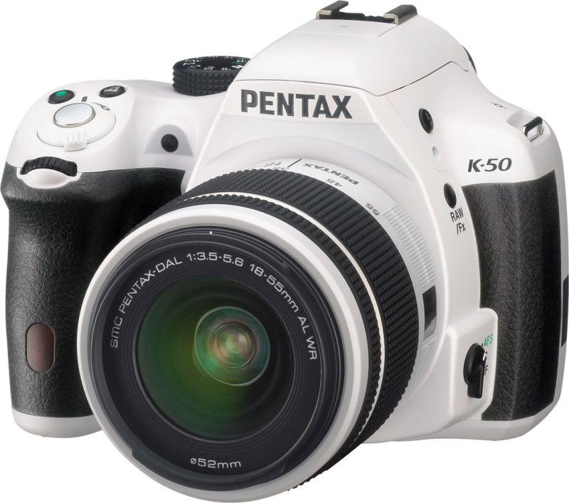 PENTAX K-50 ダブルズームキット