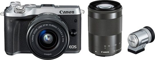 EOS M6 ダブルズームEVFキット