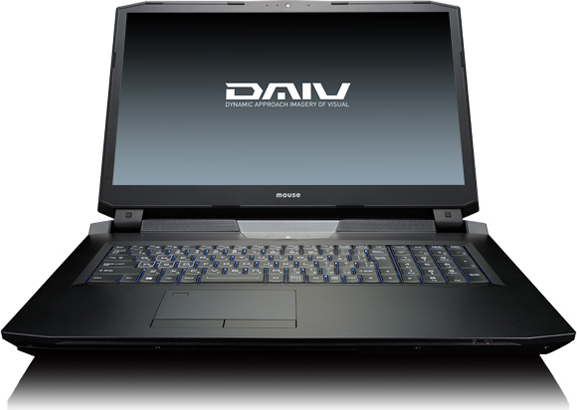 マウスコンピューター DAIV-NG7620U2-M2SS