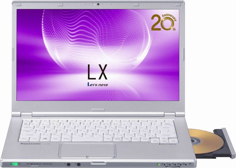Let's note LX5 CF-LX5PDHVS