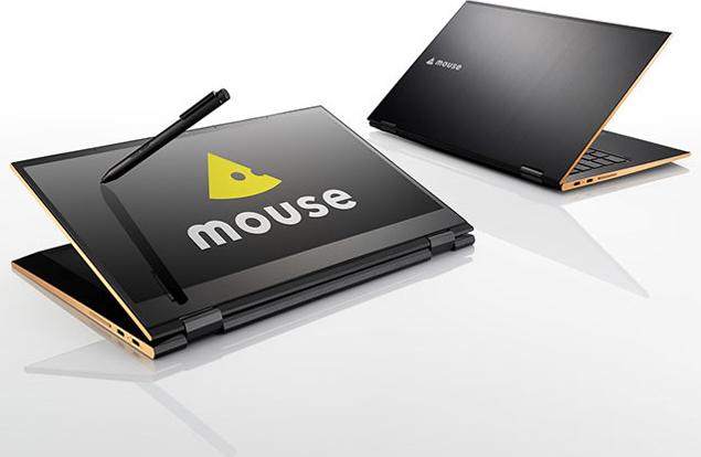 mouse U4-i5-KK NVMe マルチタッチ対応 360度回転(スタイラスペン付)