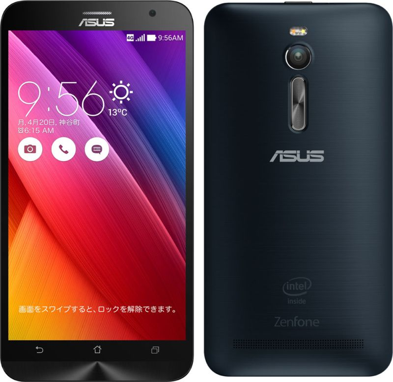 ZenFone 2 メモリ4GB/ストレージ64GB SIMフリー
