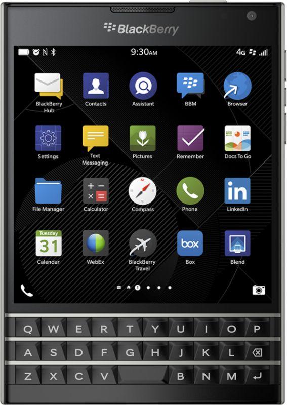 BlackBerry Passport SIMフリー SQW100-1 / RGY181LW