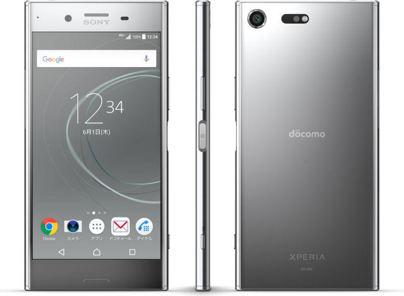ソニーモバイルコミュニケーションズ Xperia XZ Premium SO-04J docomo