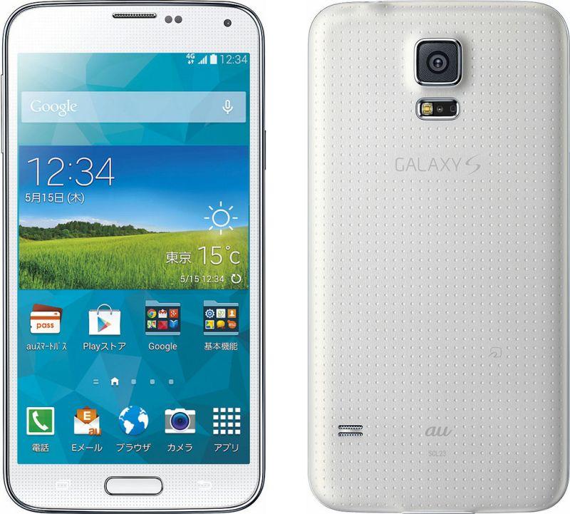 Galaxy S5 SCL23の評価レビュー...