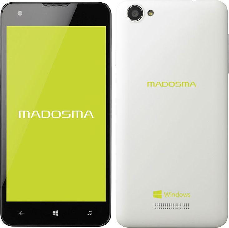MADOSMA Q501A-WH SIMフリー