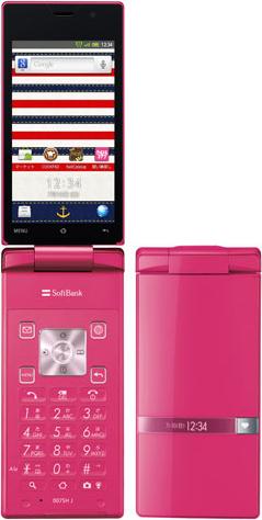AQUOS PHONE THE HYBRID 007SH J SoftBank