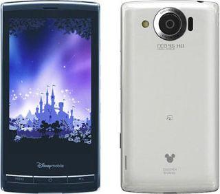 Disney Mobile on Softbank DM009SH