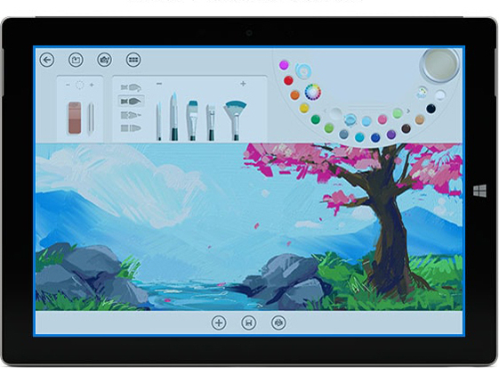 Surface 3 MSSAA4 SIMフリー
