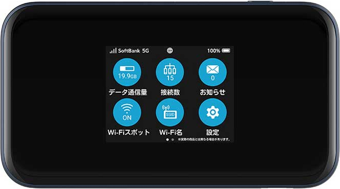 Pocket WiFi 5G A004ZT