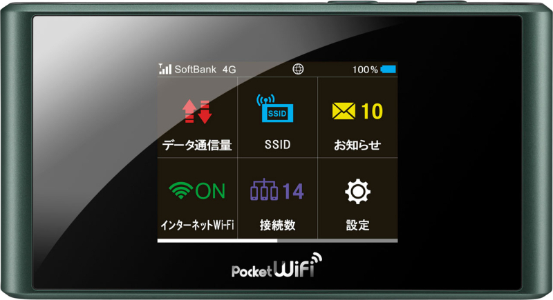 Pocket WiFi SoftBank 304ZT
