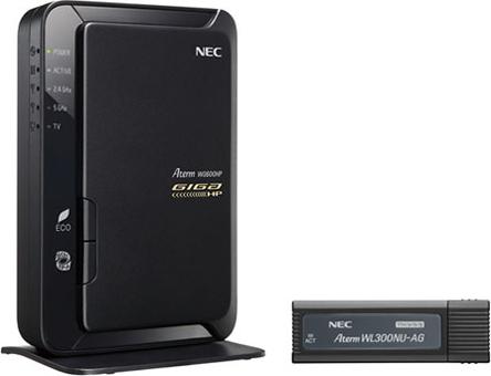 AtermWG600HP USBスティックセット PA-WG600HP/U