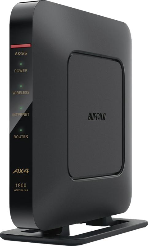 AirStation WSR-1800AX4-BK