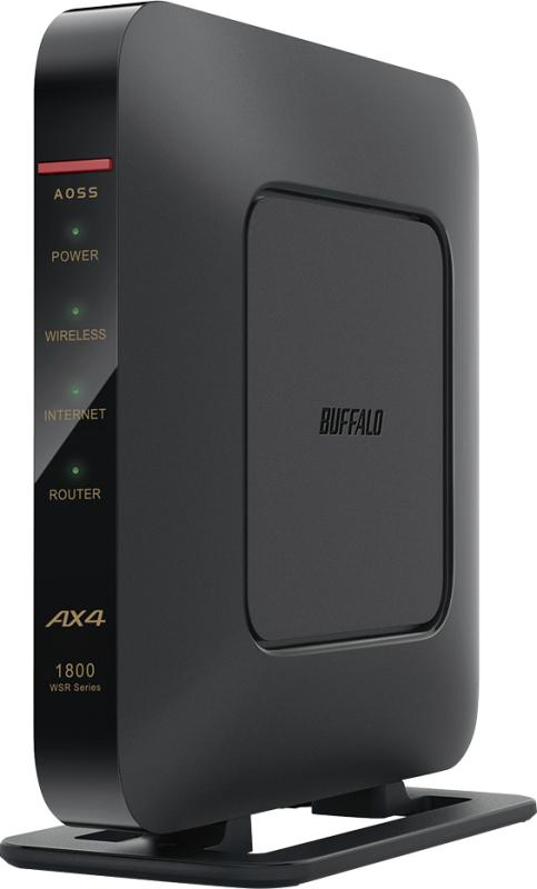 AirStation WSR-1800AX4/NBK