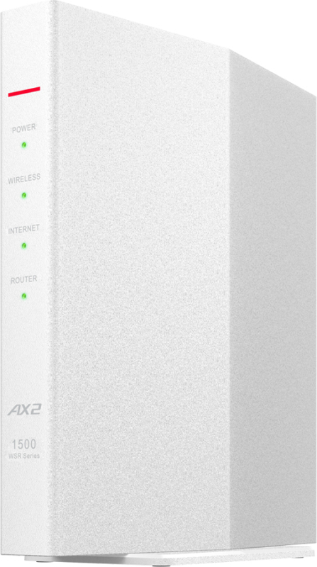 AirStation WSR-1500AX2S-WH