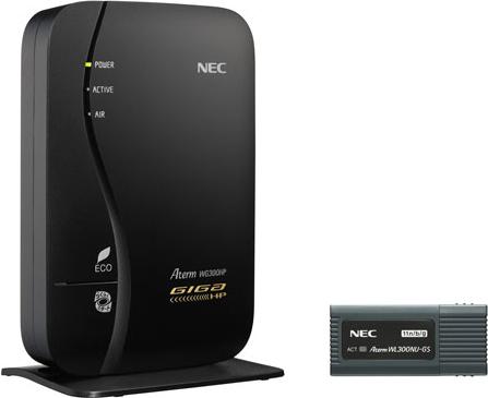 AtermWG300HP USBスティックセット PA-WG300HP/U