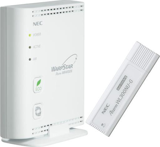 AtermWR4100N USBスティックセット PA-WR4100N/NU