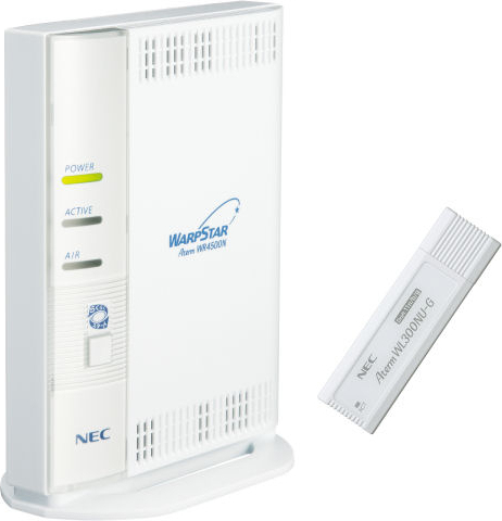 AtermWR4500N USBスティックセット PA-WR4500N/NU