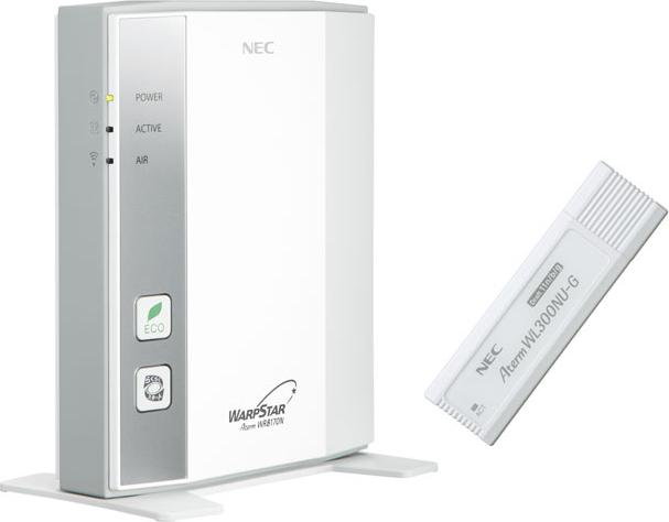 AtermWR8170N USBスティックセット PA-WR8170N-ST/NU