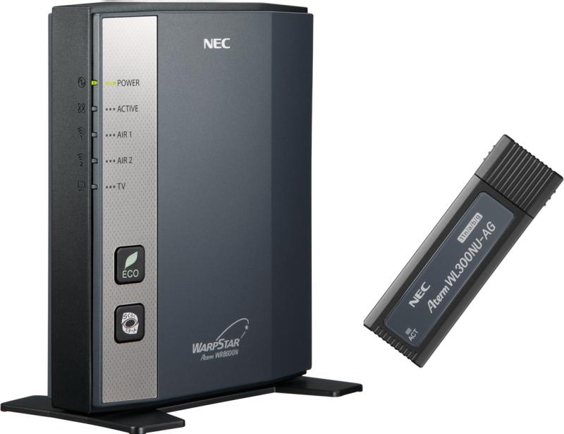 AtermWR8600N USBスティックセット PA-WR8600N-HP/U