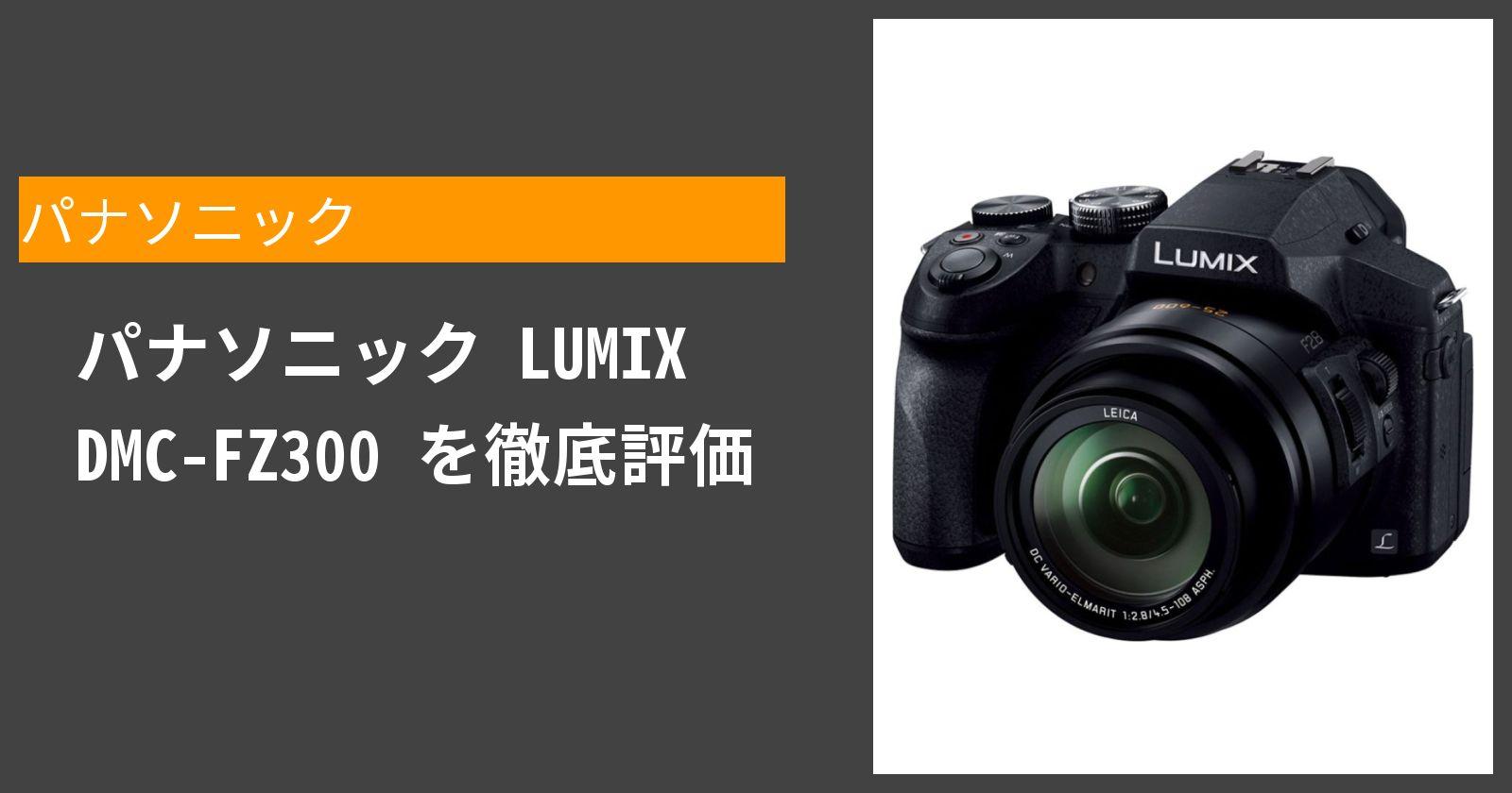 LUMIX DMC-FZ300を徹底評価