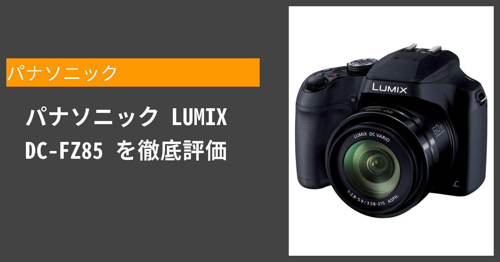 LUMIX DC-FZ85を徹底評価